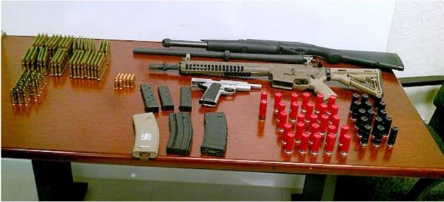 Tahmooressi Marine Arms Tijuana