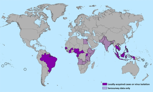 Zika: A New Mosquito Borne Virus Arrives in Mexico and USA Zika-worldmap