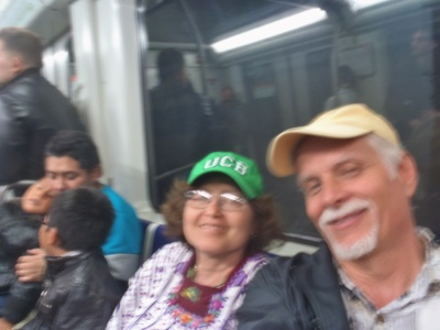 Like many of our best days: ... It all starts with a pleasant Metro trip.