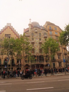 Arriving at the Destination:  Casa Battlo