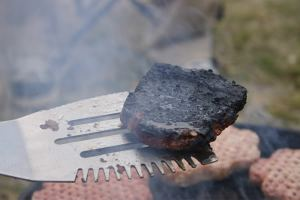 burnt burger