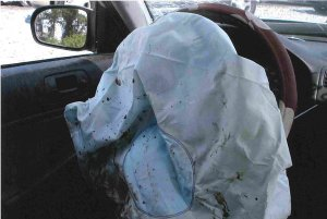 Low Speed Airbag Deployed with No Damage to the Car