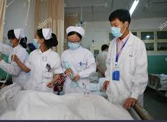medical workers in masks